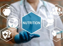 Nutrition healthcare diet medicine treatment concept. Healthy food cholesterol free medical insurance technology