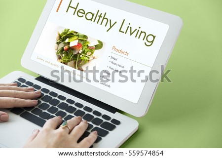 Nutrition Healthy Diet Plan Concept