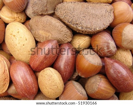 Nuts in shells