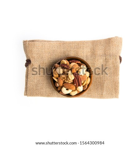 nuts or mix nuts on a background new