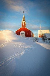Nuuk Cathedral (Greenlandic: Annaassisitta Oqaluffia) or Church of Our Saviour (Danish: Vor Frelser Kirke) is a wooden Lutheran cathedral in the Old Nuuk neighborhood of Nuuk, the capital of Greenland