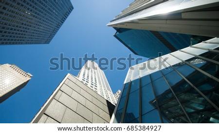 NYC - sky #685384927