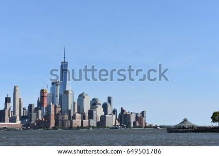 NYC Skyline #649501786