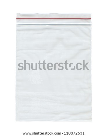 Nylon bag , Isolated on white