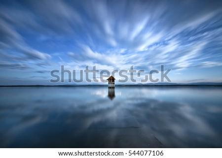Nyskie Lake, Lower Silesia, Poland Zdjęcia stock ©
