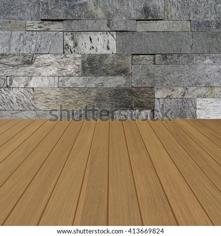 Free Photos Oak Brown Color Striped Wooden Floor With White Brick