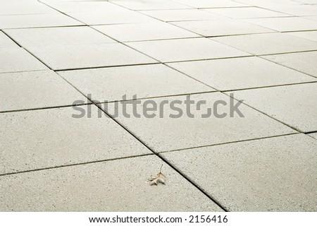 Concrete Squares Patio