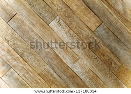 Oak wood texture of floor with natural patterns