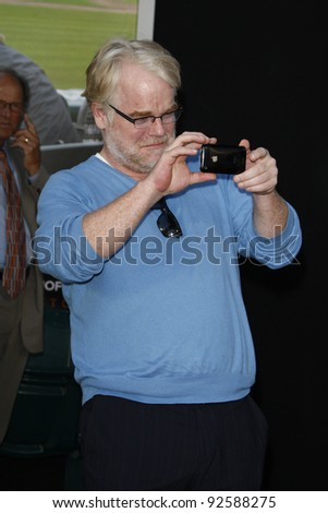 OAKLAND, CA - SEP 19: Philip Seymour Hoffman at the world premiere of Columbia Pictures' 'Moneyball' at the Paramount Theater of the Arts on September 19, 2011 in Oakland, California