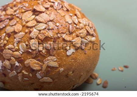 oat & bread roll