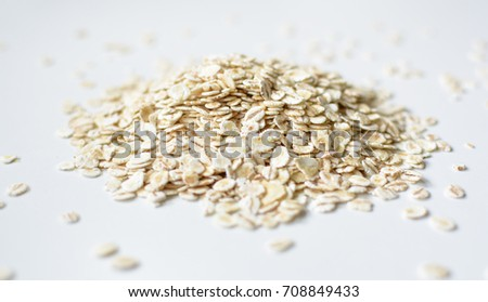 Oat flakes background  #708849433