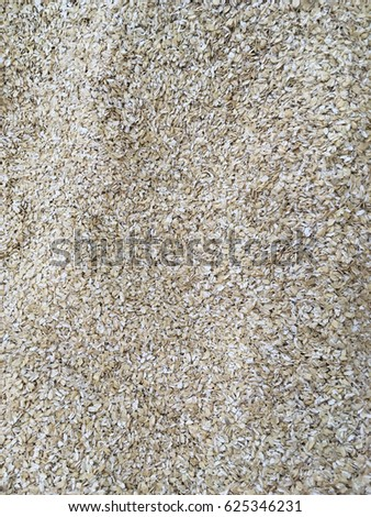 oat flakes. oat flake texture. oat flakes background. oat flake close up  #625346231