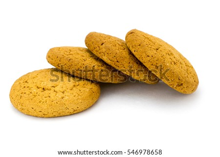 Oatmeal Cookies cookies on a white background #546978658