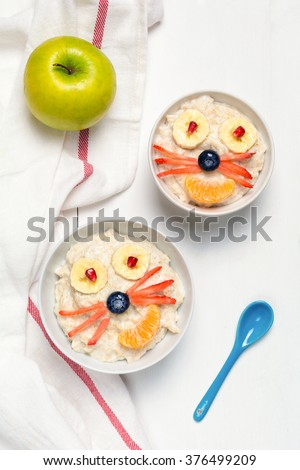 oatmeal porridge for kids  ...