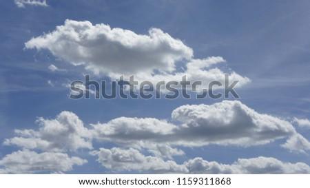 obłoki chmura niebo Zdjęcia stock ©