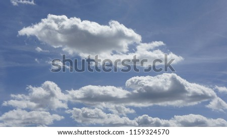obłoki niebo chmura Zdjęcia stock ©