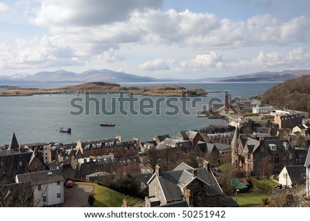 Oban in Argyll and Bute.