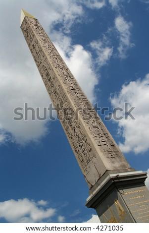 Obelisk in Place de la Concorde, Paris