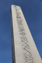 Obelisk of Theodosius in Istanbul City, Turkey