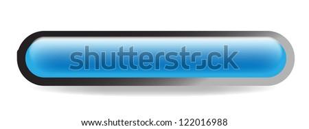 Oblonged web button isolated lozenge shaped