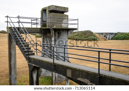 observation tower at fort casey ...
