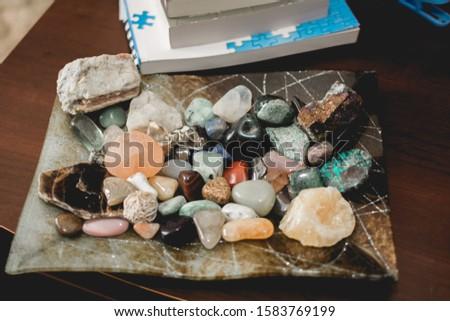 Occult Meditation Spiritual Healing Stones