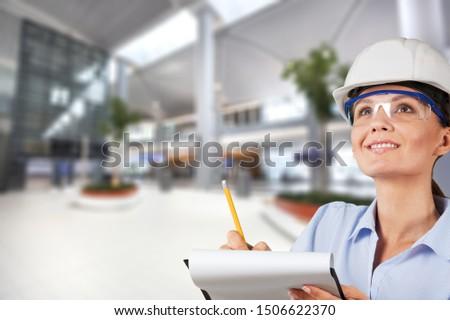 Occupation green environment engineer construction women built structure #1506622370