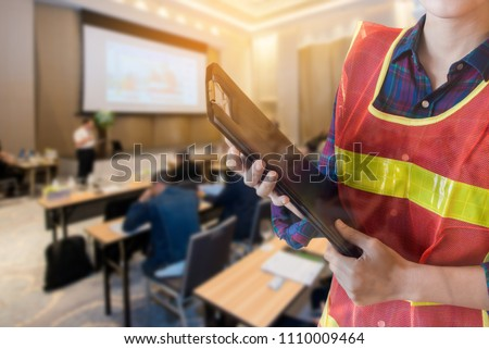 Occupational health and safety officer Seminar room