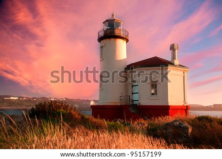 Ocean and coastal landscapes Lighthouse