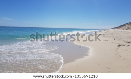ocean and empty beach