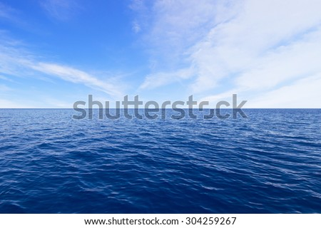 Ocean and Sky #304259267