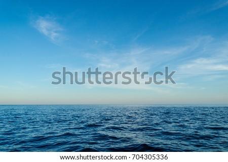 ocean and sky #704305336