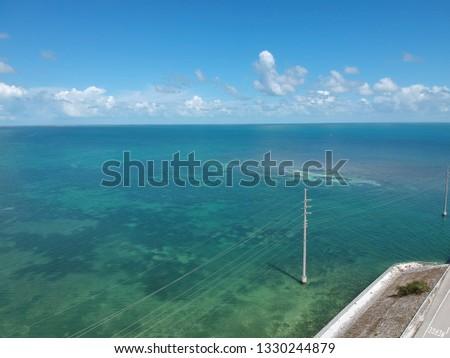 Ocean, clear water, aerial ocean pics