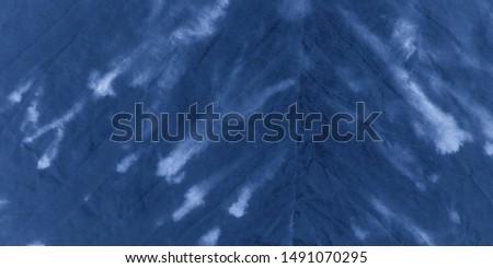 Ocean Dirty Art Print. Sky Rough Tie Dye. Acrylic Style. Marble Brush Drawn Surface. Vintage Dirty Art. Grunge Pattern. Ink Blotch. Watercolor Work. Dirty Worn Print.