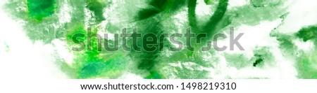 Ocean Flora Texture. Summer Marine Flora. Hand Drawn White Background. Artistic Organic Grunge. Green Marine Flora. Tropical Flora Texture.