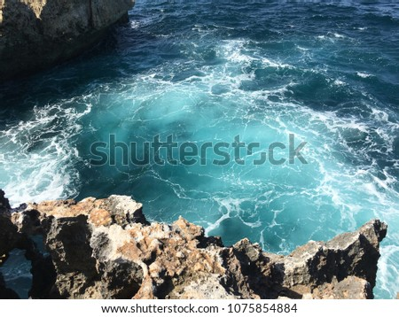 Ocean landscape travel lifestyle vacation #1075854884