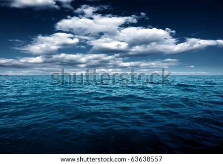 Ocean night #63638557