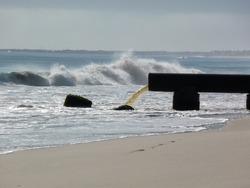 ocean pollution pipe