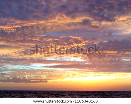 Ocean Sunset View #1186348168