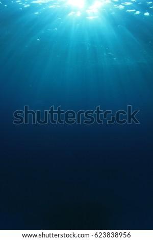 Ocean underwater #623838956