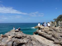Ocean view at the North Stradbroke Island, Brisbane
