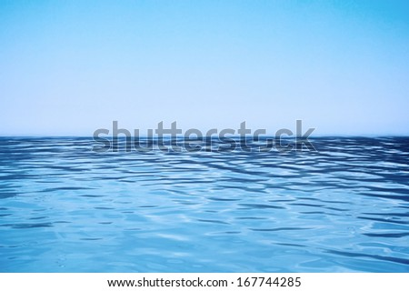 Ocean view in sunny summer day #167744285