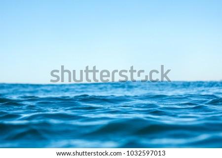 Ocean water ripples #1032597013