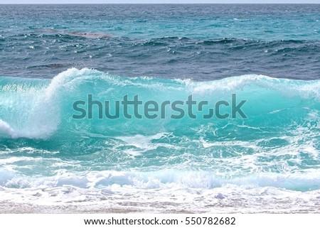 Ocean Wave  #550782682