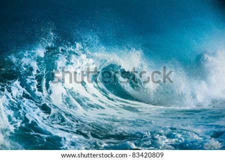 Ocean wave #83420809
