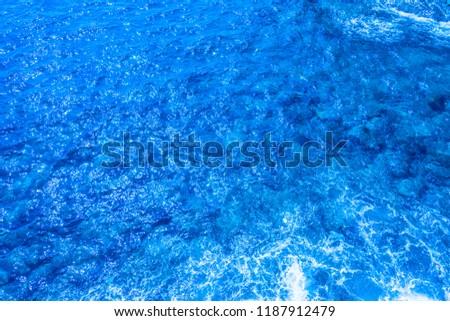 Ocean Wave above
