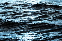 Ocean wave background. Bubble water foam backdrop. Turbulent sea texture. Messy river water flow. Ripples on lake water.