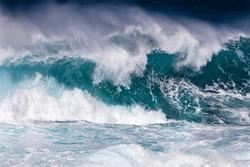 Ocean Wave in stormy weather