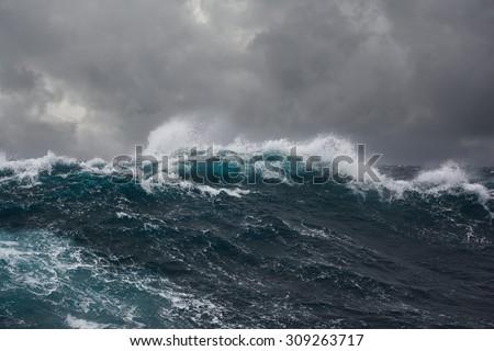 ocean wave in the indian ocean...