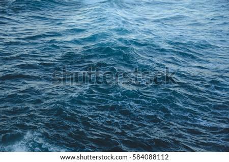 Ocean waves. #584088112